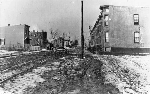 41st Street northwest to Eighth Avenue, Finntown, c.1905 Old Vintage Photos and Images