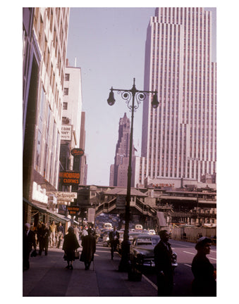 42nd St 1942 Midtown Manhattan - New York, NY Old Vintage Photos and Images
