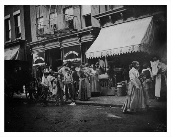 43 Mulberry Street 1896  Chinatown NYC Old Vintage Photos and Images