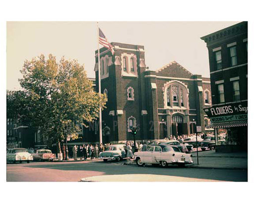 46th Street Church -  Sunset Park - Brooklyn, NY 1960s Old Vintage Photos and Images