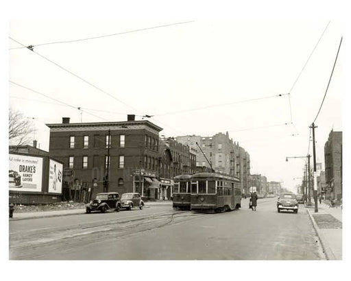 4th & 100th Street Fort Hamilton Brooklyn NY 1909 Old Vintage Photos and Images