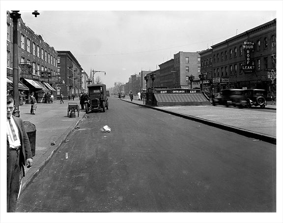 4th Ave & 60th Street 1928 Sunset Park  Old Vintage Photos and Images