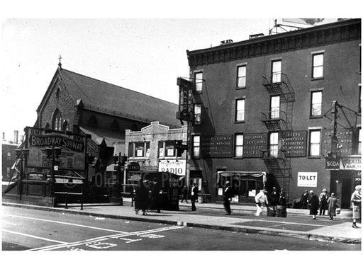 4th Ave Station - BMT to Manhattan 1913 Sunset Park Brooklyn NY Old Vintage Photos and Images