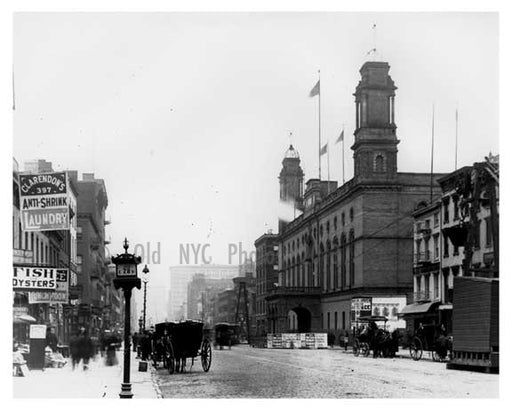 4th Avenue & 28th Street Old Madison Square Garden Gramercy Park, Manhattan, NY 1900 Old Vintage Photos and Images