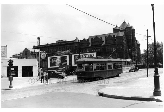 5037 Trolley Car Old Vintage Photos and Images