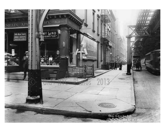 53rd Street & 7th Avenue - Midtown Manhattan 1914 A Old Vintage Photos and Images