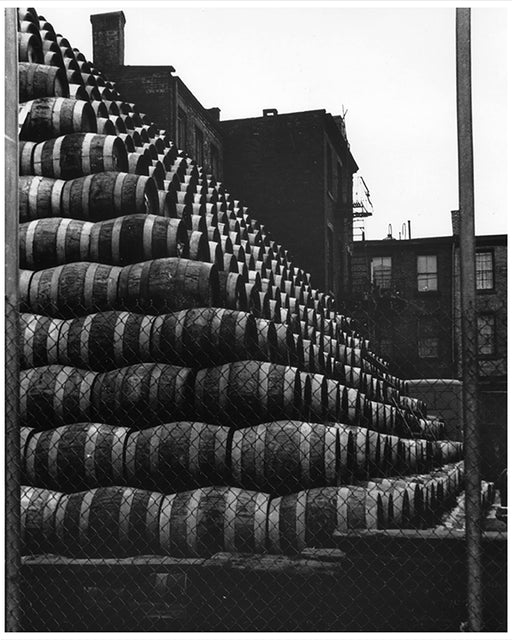 Beer Keg Mountain, Greenpoint Brooklyn - 1950's