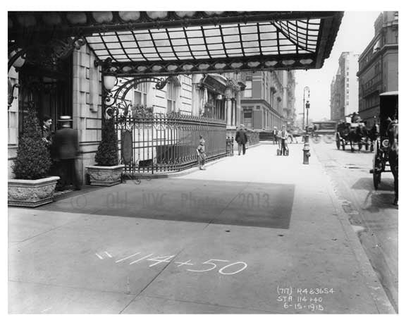 55th Street & 7th Avenue - Midtown Manhattan 1914 D Old Vintage Photos and Images