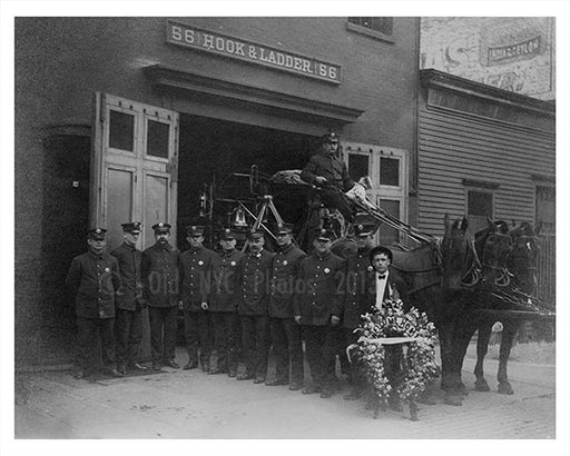 56 Hook & ladder - 128 Greenpoint Ave Old Vintage Photos and Images