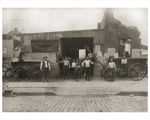 578 Flushing Avenue Maspeth - Queens, NY 1901 Old Vintage Photos and Images