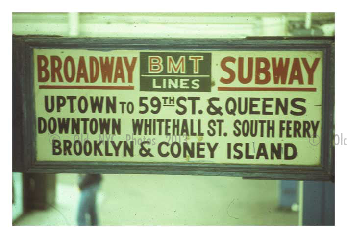 59th St. BMT Station Old Vintage Photos and Images
