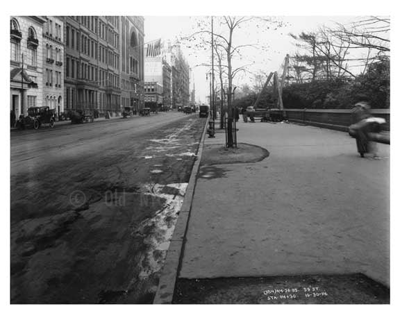 59th Street - outside of Central Park - Midtown Manhattan - NY 1914 Old Vintage Photos and Images