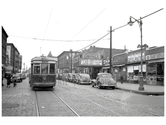 5th Ave & 1st - Fort Hamilton line Old Vintage Photos and Images