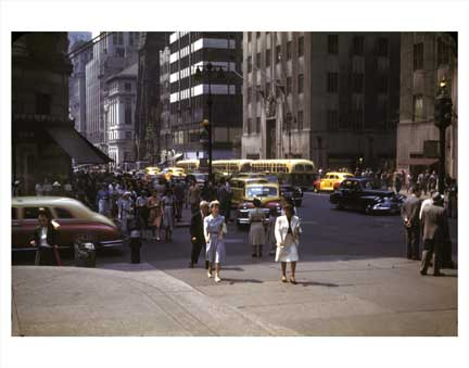 5th Ave Taxis 2 Old Vintage Photos and Images