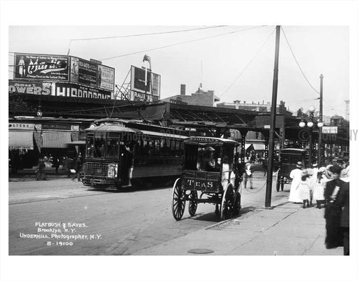 5th Avenue Flatbush Brooklyn B Old Vintage Photos and Images