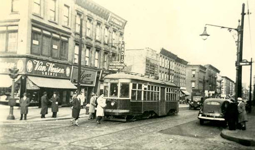 5th Avenue and Union Street Park Slope Brooklyn 1948 Old Vintage Photos and Images