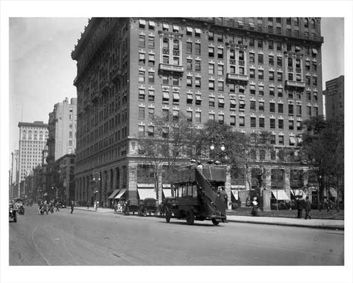 5th Avenue between 25th & 26th Streets Flatiron District NYC Old Vintage Photos and Images