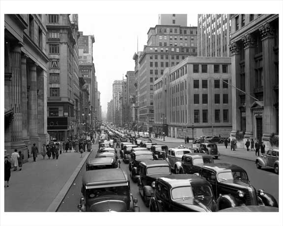 5th Avenue near 34th Street 1938 Garment District Manhattan Old Vintage Photos and Images