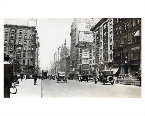 5th Avenue north toward 42nd Street 1914 Old Vintage Photos and Images