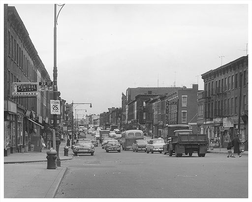 5th Avenue Looking toward 22nd Street, Sunset Park Brooklyn - 1950s
