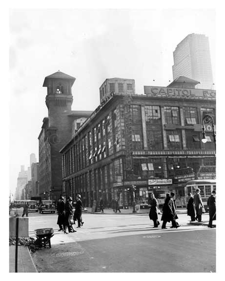 63rd & Broadway  - Upper West Side 1939  Manhattan - NYC Old Vintage Photos and Images