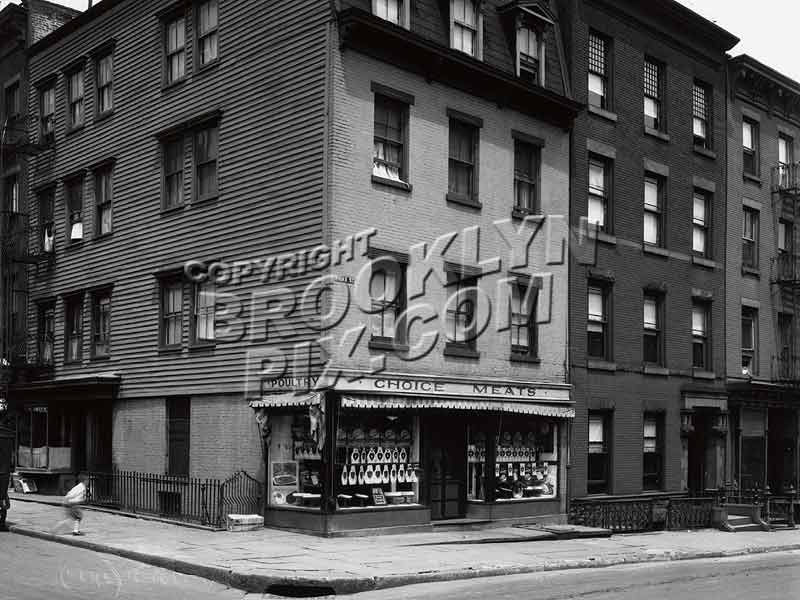 64 Hicks Street, corner of 27 Cranberry Street in the 1920s Old Vintage Photos and Images