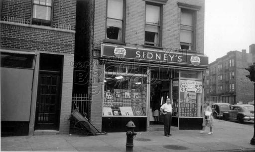 659 Washington Avenue, north east corner of St. Mark's Avenue, c.1950 Old Vintage Photos and Images