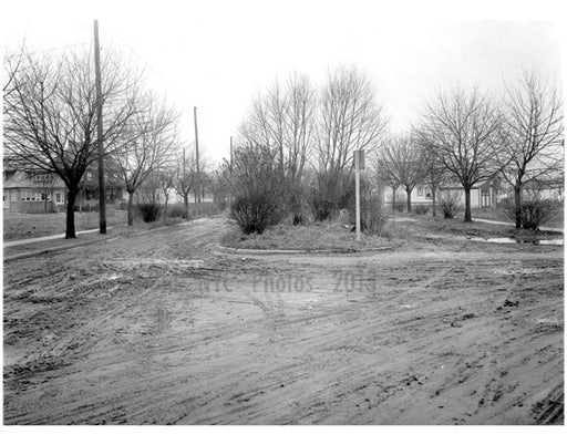 65th Street & Dahill Rd.  1924 Old Vintage Photos and Images