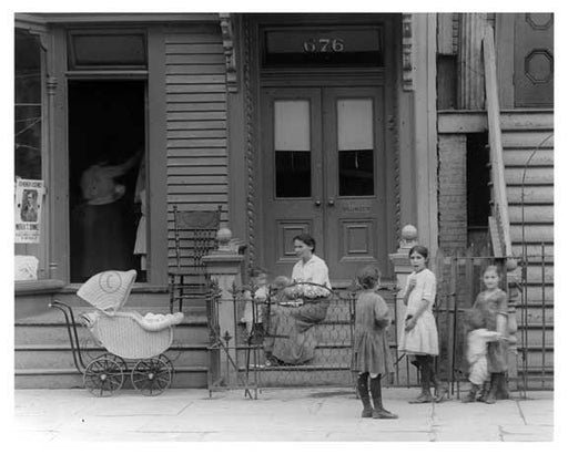 674-676 Metropolitan  Avenue  - Williamsburg - Brooklyn, NY 1916 VII Old Vintage Photos and Images
