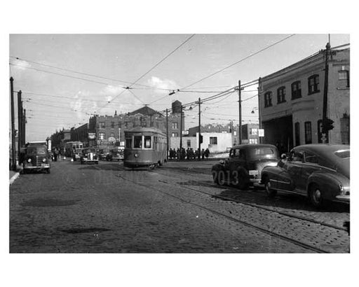68 20 Grand Ave Maspeth - Juniper Diner & Maspeth theater 1946 - Maspeth- Queens NY Old Vintage Photos and Images
