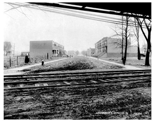 69th Street & New Utrecht Ave 1918