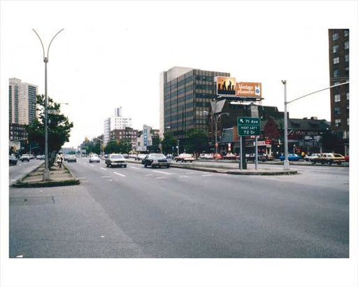 70th Road & Queens Blvd.  Forest Hills  Queens 1981 Old Vintage Photos and Images