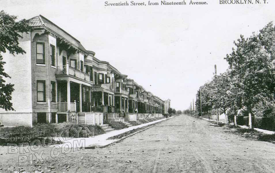 70th Street from 19th Avenue, 1910