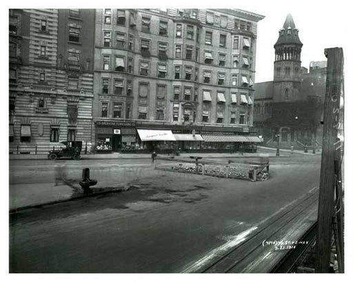 72nd Street & Broadway - Upper West Side - New York, NY 1910 Old Vintage Photos and Images