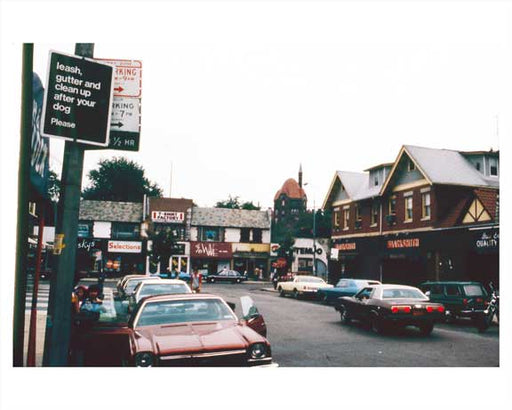 72nd Street - Forest Hills  Queens 1981 Old Vintage Photos and Images