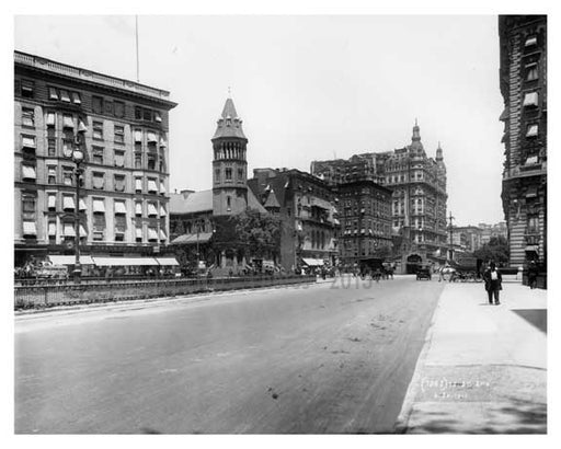 72nd Street Station - Upper West Side - New York, NY 1910 Old Vintage Photos and Images