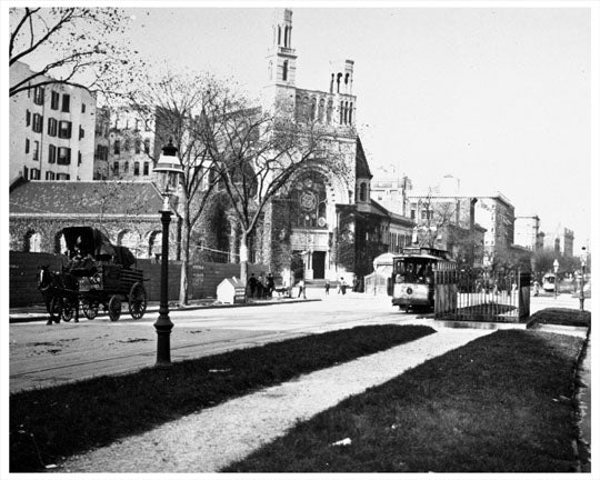 79th Street & Broadway 1907 Old Vintage Photos and Images