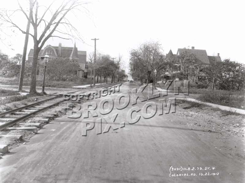79th Street near Colonial Road, 1913