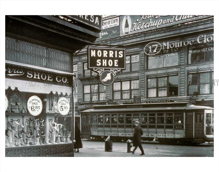 7th & 125th Street - Harlem - Manhattan Old Vintage Photos and Images