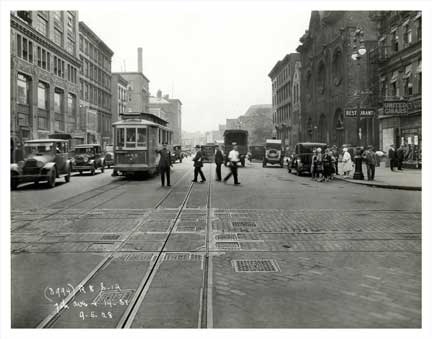 7th Ave & 14th St - Greenwich Village - Downtown Manhattan Old Vintage Photos and Images