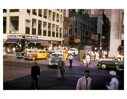 7th Ave Penn Station Chelsea Manhattan Old Vintage Photos and Images
