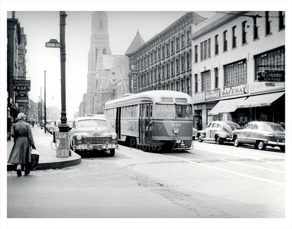 7th Ave & Union St. Old Vintage Photos and Images