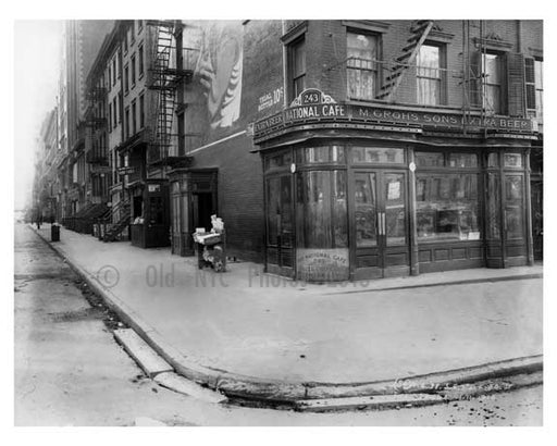 7th Avenue & 24th Street  - Chelsea  NY 1915 Old Vintage Photos and Images