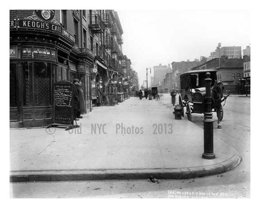 7th Avenue between 18th & 19th Streets - Chelsea  NY 1915 Old Vintage Photos and Images