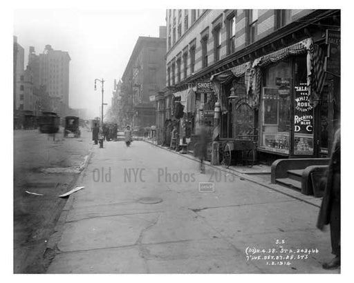 7th Avenue between 27th & 28th Streets - Chelsea  NY 1915 Old Vintage Photos and Images
