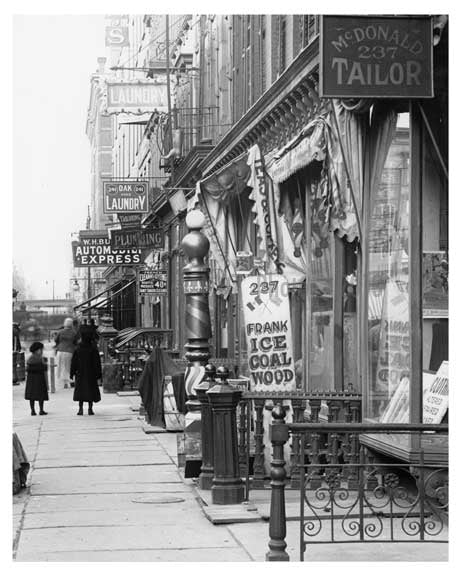 7th Avenue between &  36th Street  - Midtown Manhattan - 1915 A Old Vintage Photos and Images