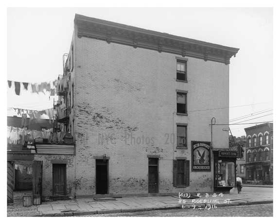 85 Roebling Street - Williamsburg - Brooklyn, NY 1916 A Old Vintage Photos and Images