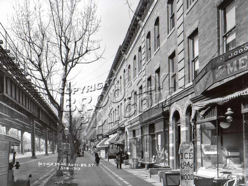 86th Street NE from near 21st Avenue, 1917