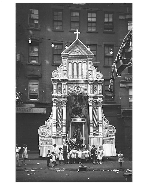 Saint Augustine, 89 Elizabeth Street Little Italy New York City - 1929