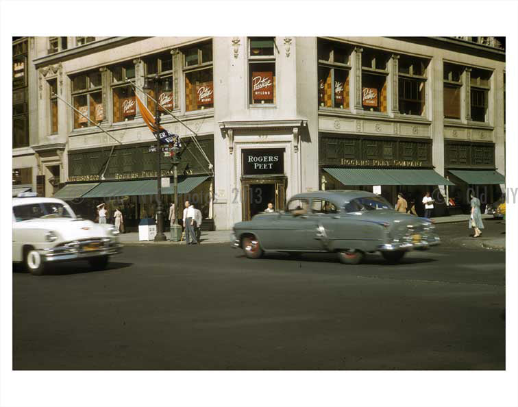8th Ave & 41st Street - Hells Kitchen - Manhtatan Old Vintage Photos and Images